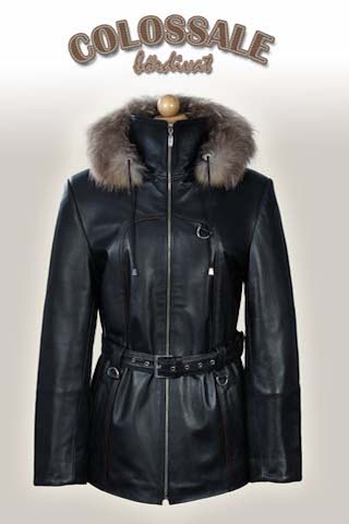 Sara  0 Leather jackets for Women preview image