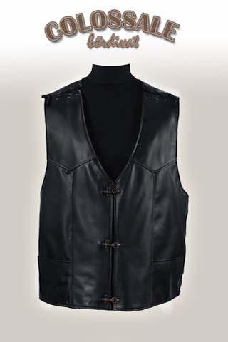 Motoros bőrmellény  0 Leather jackets for Men preview image