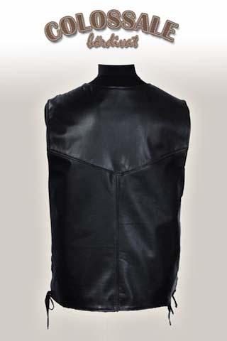 Motoros bőrmellény  1 Leather jackets for Men preview image