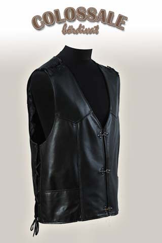 Motoros bőrmellény  2 Leather jackets for Men preview image