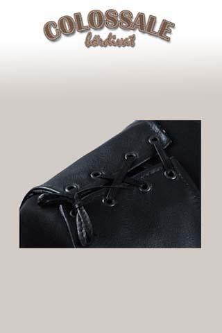 Motoros bőrmellény  4 Férfi bőrkabátok preview image
