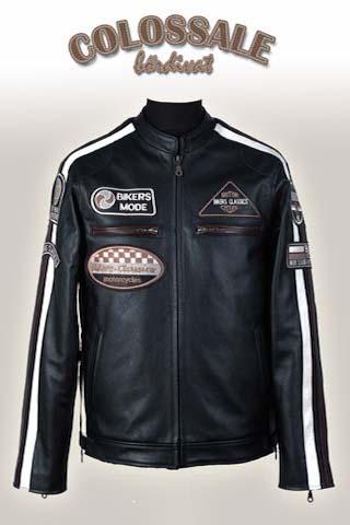 Rossi  0 Férfi bőrkabátok preview image