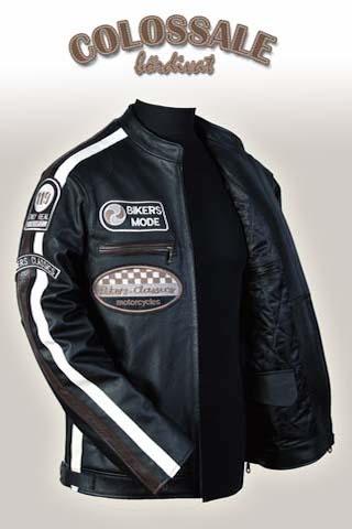 Rossi  2 Férfi bőrkabátok preview image