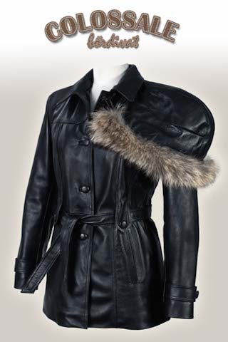 Klaudia  3 Leather jackets for Women preview image