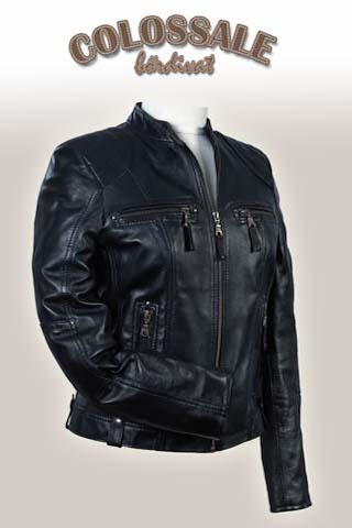 Melani  2 Leather jackets for Women preview image
